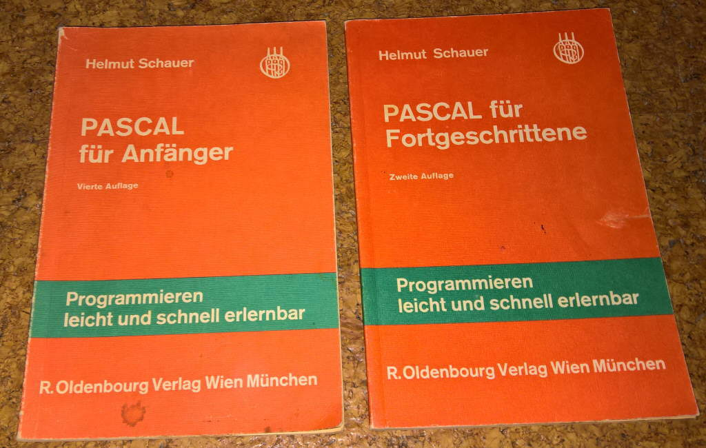 Books about Pascal